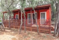 Mobile homes in Bale, Istria, Croatia