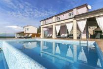 Villa mit Pool für 8 Personen, Labin, Rabac, Istrien, Kroatien