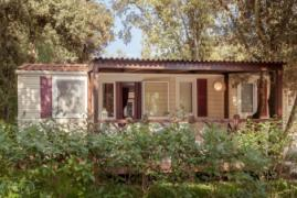 Mobilheim in Bale, Istrien, Kroatien